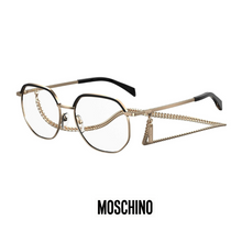 Moschino Eyewear - Gold/Black