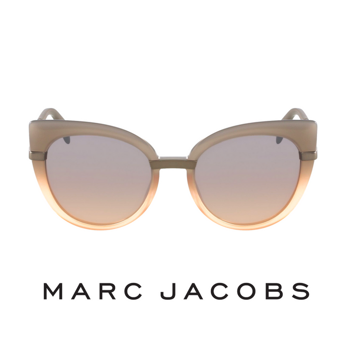 Marc Jacobs Grey Peach Silver Gradient Mirror naocare