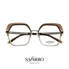 "Safarro Eyewear - ""Pienza"" - Silver/Brown Gradient"
