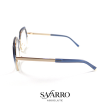 "Safarro Eyewear - ""Pienza"" - Gold/Blue Gradient"