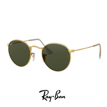 Ray Ban Round Metal Green Classic