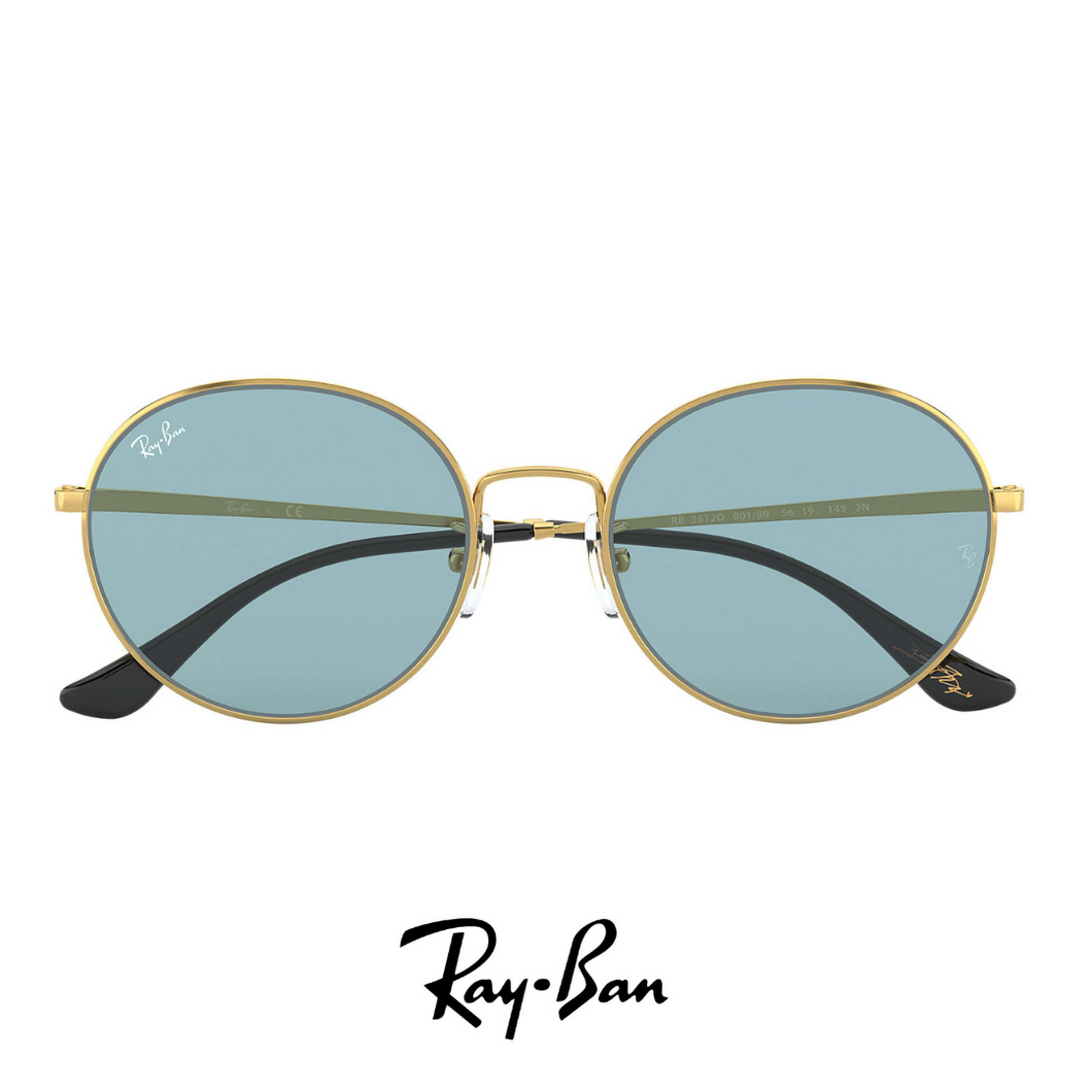 Ray Ban Gold&Blue