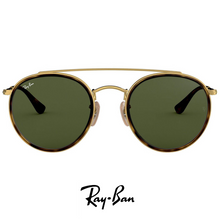 Ray Ban Round Double Bridge Green Classic