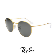 Ray Ban - Round Double Bridge - Grey - Polarized