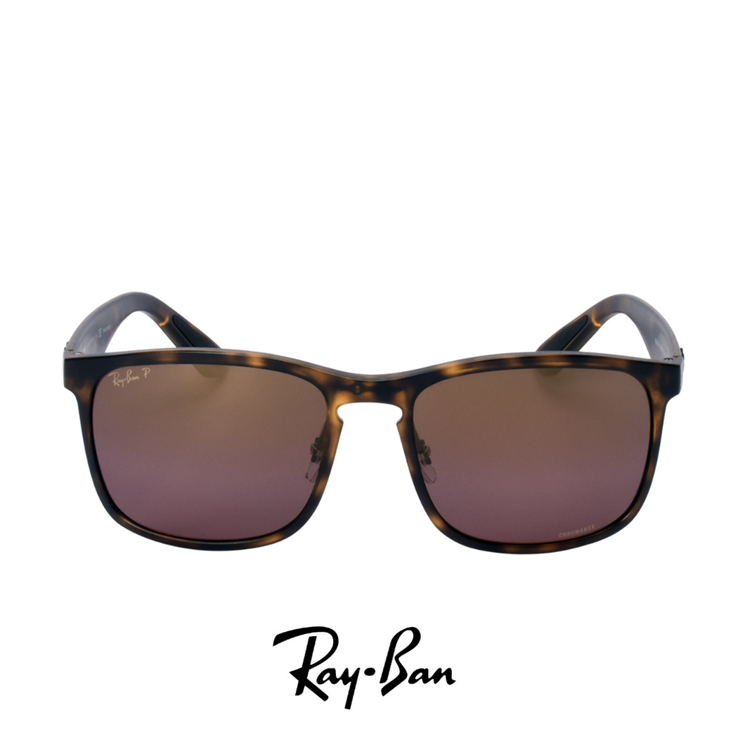 Ray Ban Chromance - Polarized Dark Brown Mat