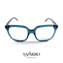 "Safarro Eyewear - ""Roma"" - Transparent Blue"