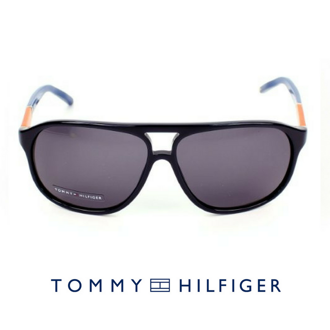Tommy Hillfiger Acetate Blue Orange Grey suncane naocare