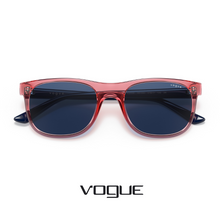Vogue - Kids - Rectangle - Transparent Red/Navy Blue