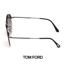 Tom Ford Veronique-02 Shiny Dark Ruthenium