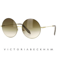 Victoria Beckham Feather Round Black and Gold