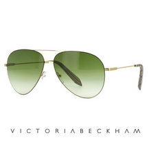 Classic Victoria Feather Moss and Gold