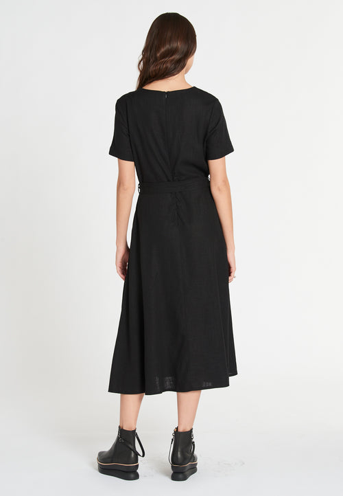 Ana Linen Soft Black