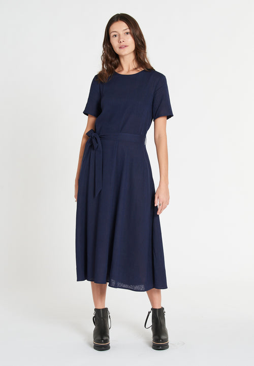 Ana Linen Soft Navy