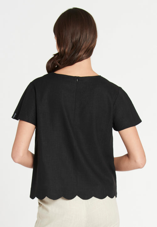 Roche Linen Soft Black