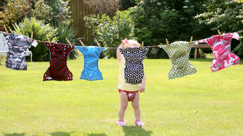 how to wash reuseable nappies