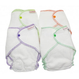 IMSEVIMSE - Organic Cotton Fitted Nappy 5+kg (4 pack)