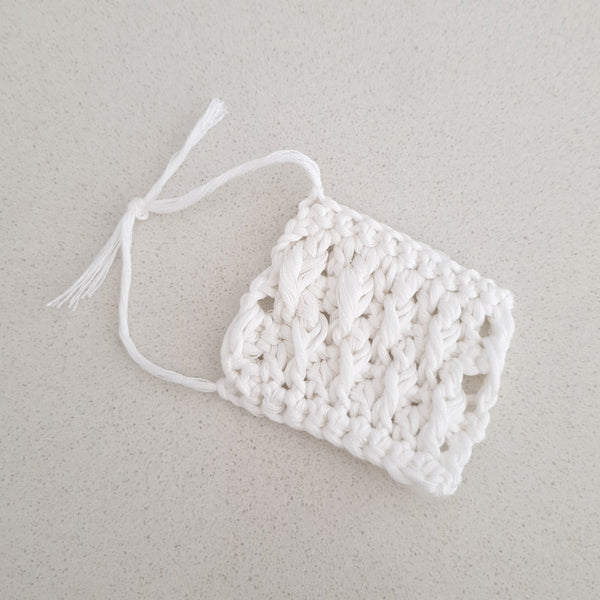 LITTLE PIGLET - Crochet Face Wipes/Scrubbies