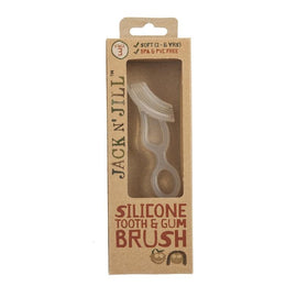 JACK N' JILL - Silicone Tooth and Gum Brush (Stage 3)