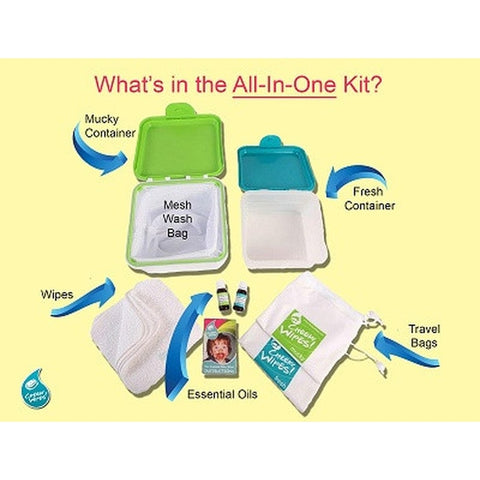 CHEEKY WIPES - All-in-One Kit