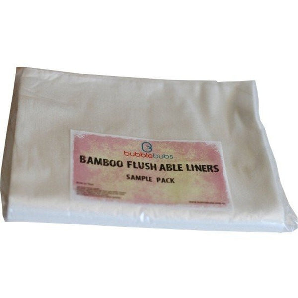 BUBBLEBUBS - Bamboo Flushable Liners (20 Sheets)