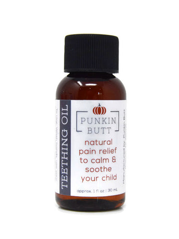 Punkin Butt - Teething Oil with Dispensing Top 1oz/30ml