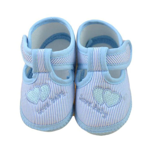 Baby shoes girls Newborn Girl Boy Soft Sole Crib Toddler Shoes Canvas Sneaker girls shoes casual first walker - Roozoda