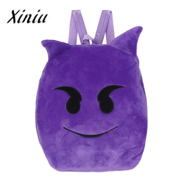 Kids Backpack Cute Emoji - Roozoda