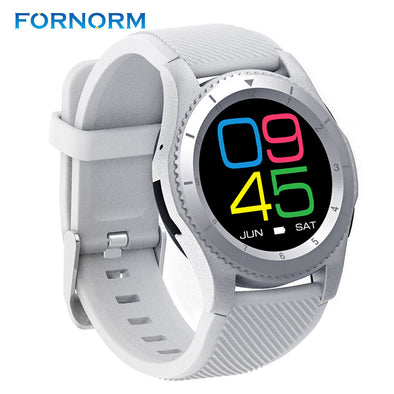 FORNORM G8 Smart Watch Phone MTK2502 Bluetooth 4.0 SIM Card Smartwatch Call Message Reminder Heart Rate Monitor For Android IOS - Roozoda