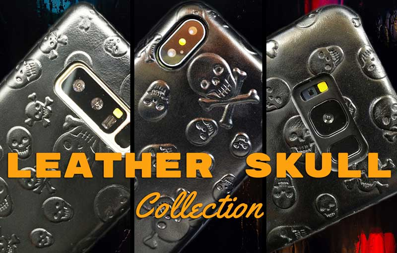 Leather Skull Collection