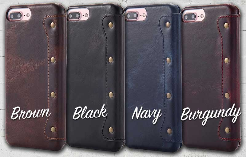 Picture of Flip Leather case for iPhone 8, iPhone 8 Plus 7 7plus