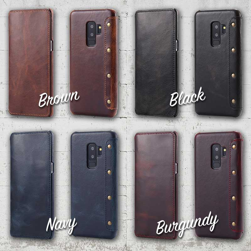 Picture of Samsung Galaxy S9plus leather case