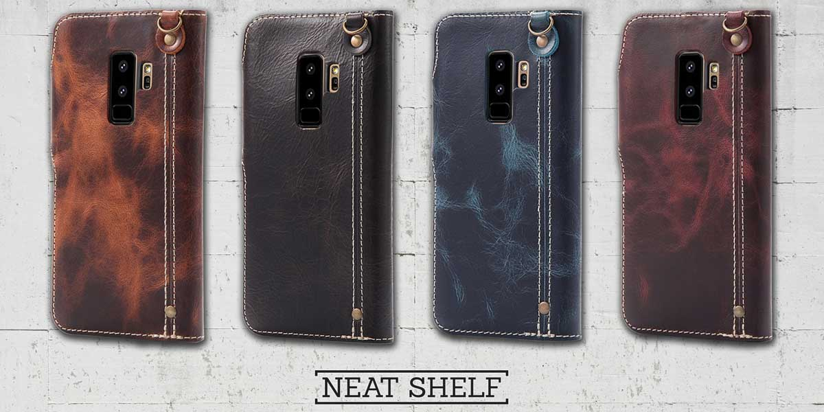 Samsung Galaxy S9 and S9plus Leather Flip Wallet