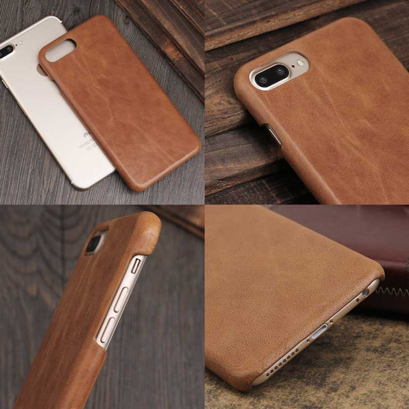 Picture of Ultra-slim Leather cover for iPhone 8 7 plus phone case holder