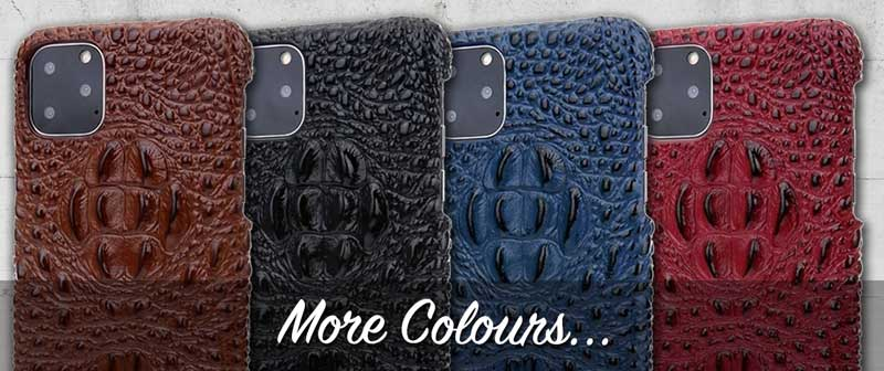 Alligator Pattern Leather case for iPhone 11 MaxPro