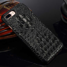 Genuine Black iPhone 8 Plus Alligator case