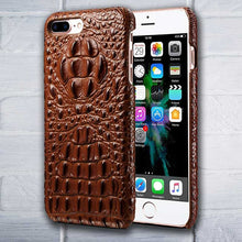 Brown iPhone 7 Alligator case