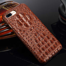 Brown iPhone 8 Alligator case