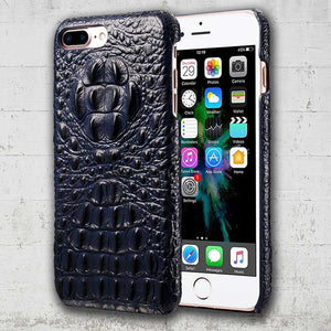 alligator skin iphone SE case
