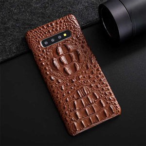 croc leather phone case