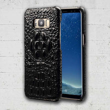 Black Samsung Galaxy S8plus Alligator phone case