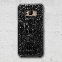 Black Galaxy S8+ Alligator case