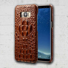 Brown Galaxy S8 Alligator case