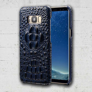 Navy Crocodile smartphone case for Galaxy Note 8 S8 plus