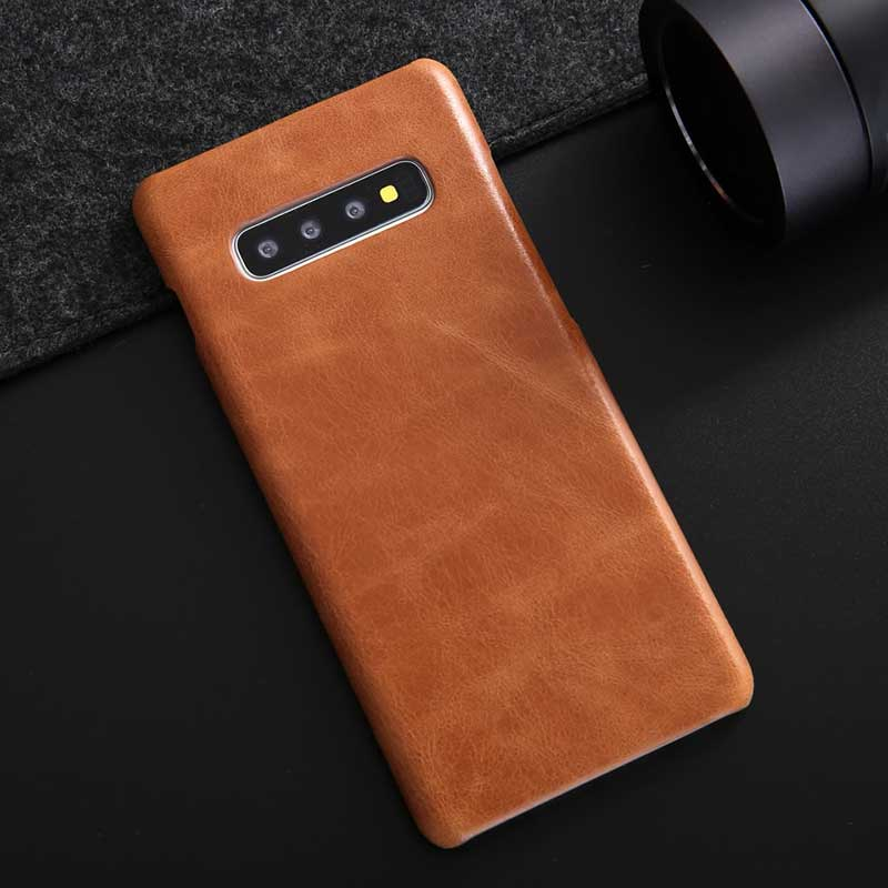 Classic Leather cover for Galaxy S10