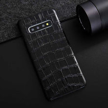 Load image into Gallery viewer, Samsung Galaxy S10 alligator cell phone case