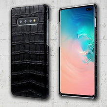 Load image into Gallery viewer, Galaxy S10 lite Croco case