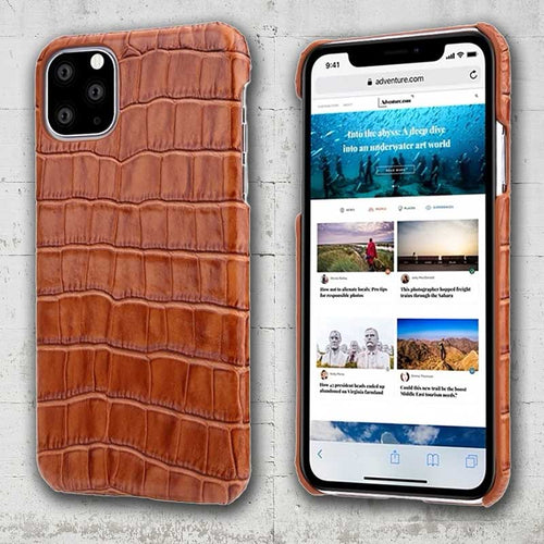 alligator skin phone case