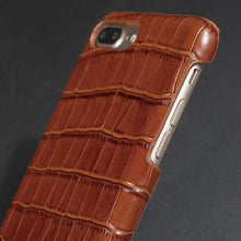 Croco iphone 7 plus leather cover
