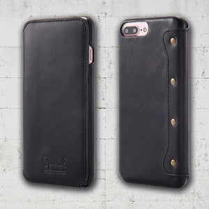 black iphone 8 folio case