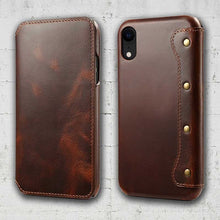 Load image into Gallery viewer, iPhone XR leather case